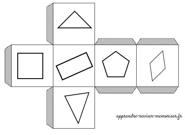 dés des polygones