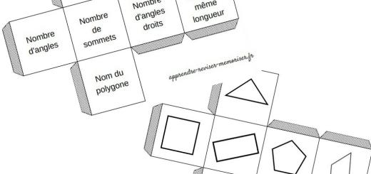 jeu dés polygones