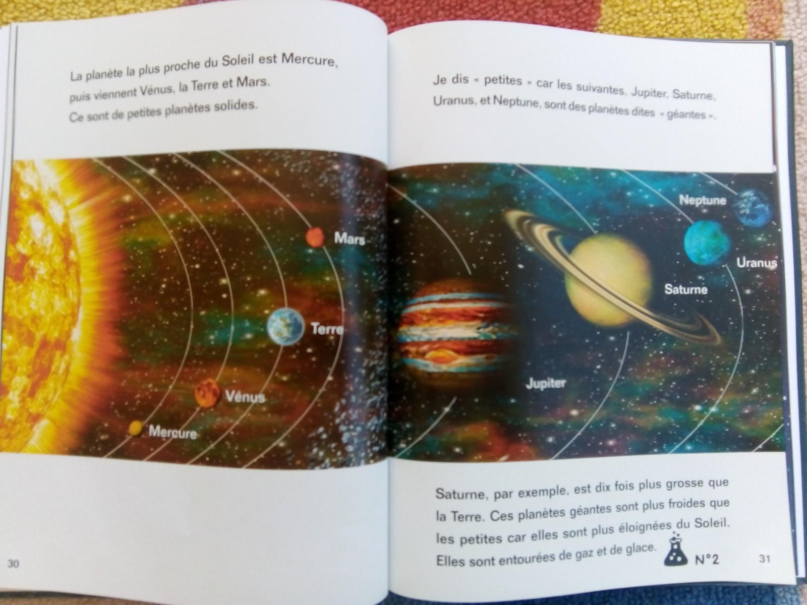 album histoire de l'univers montessori