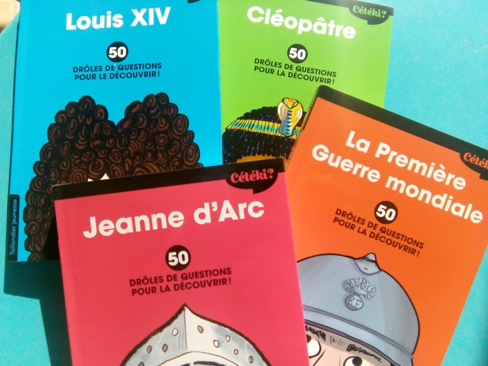 livres pour découvrir l'histoire enfants