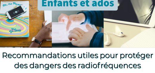protéger des dangers des radiofréquences smartphones et tablettes