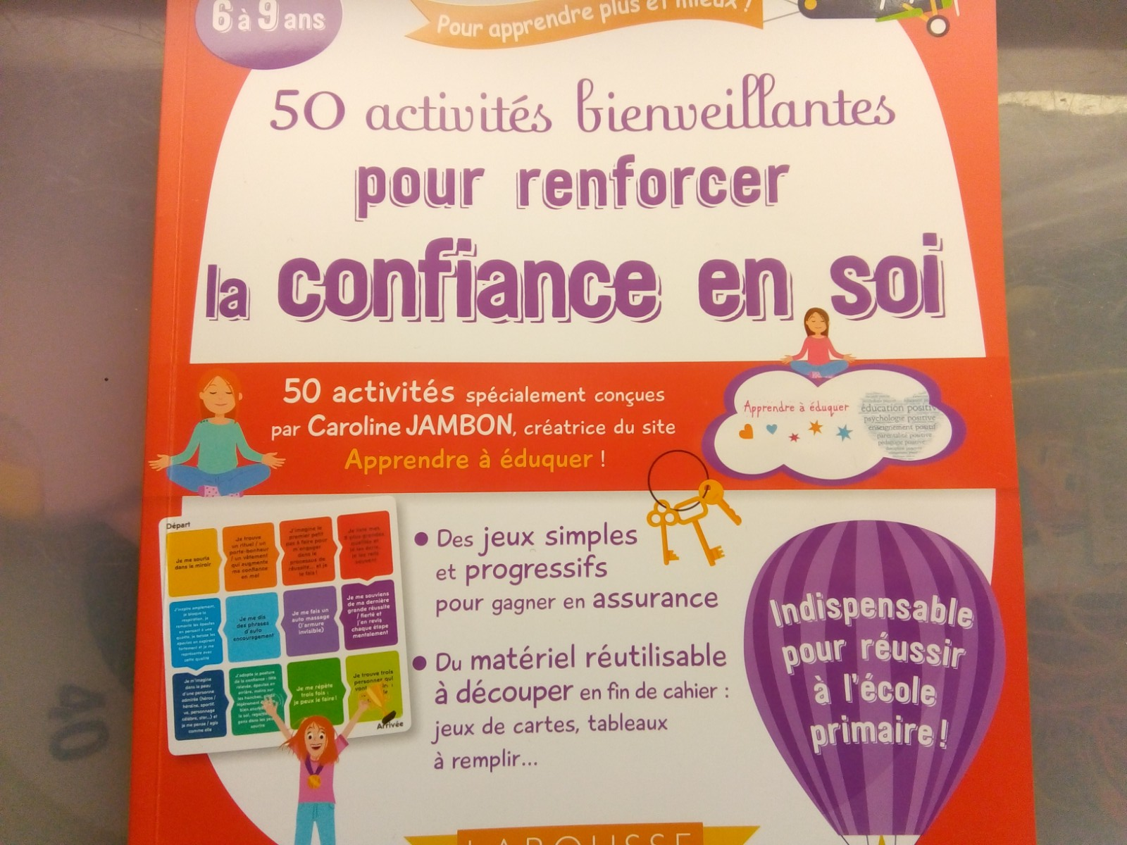 activités bienveillantes renforcer confiance en soi enfants