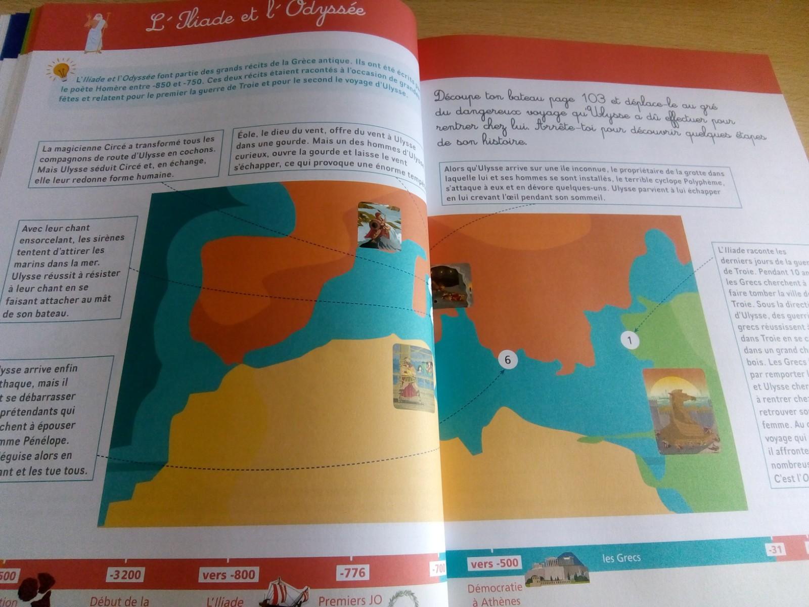 cahier activités histoire du monde enfants