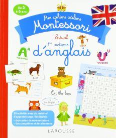 cahier atelier montessori anglais