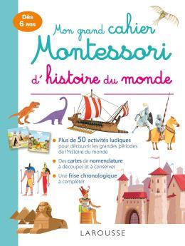 cahier montessori Histoire