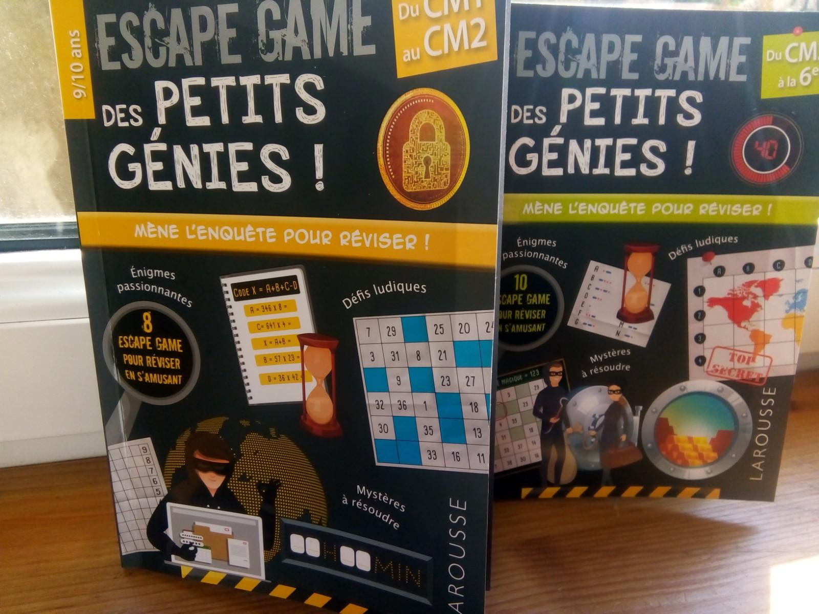 cahiers de jeux de maths élémentaire