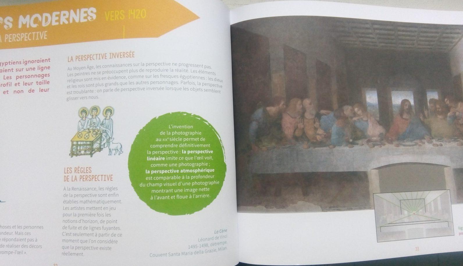 cahier histoire art enfants