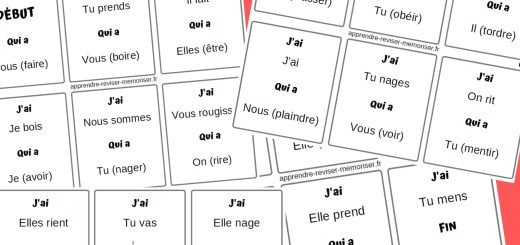 jeu conjugaison présent français