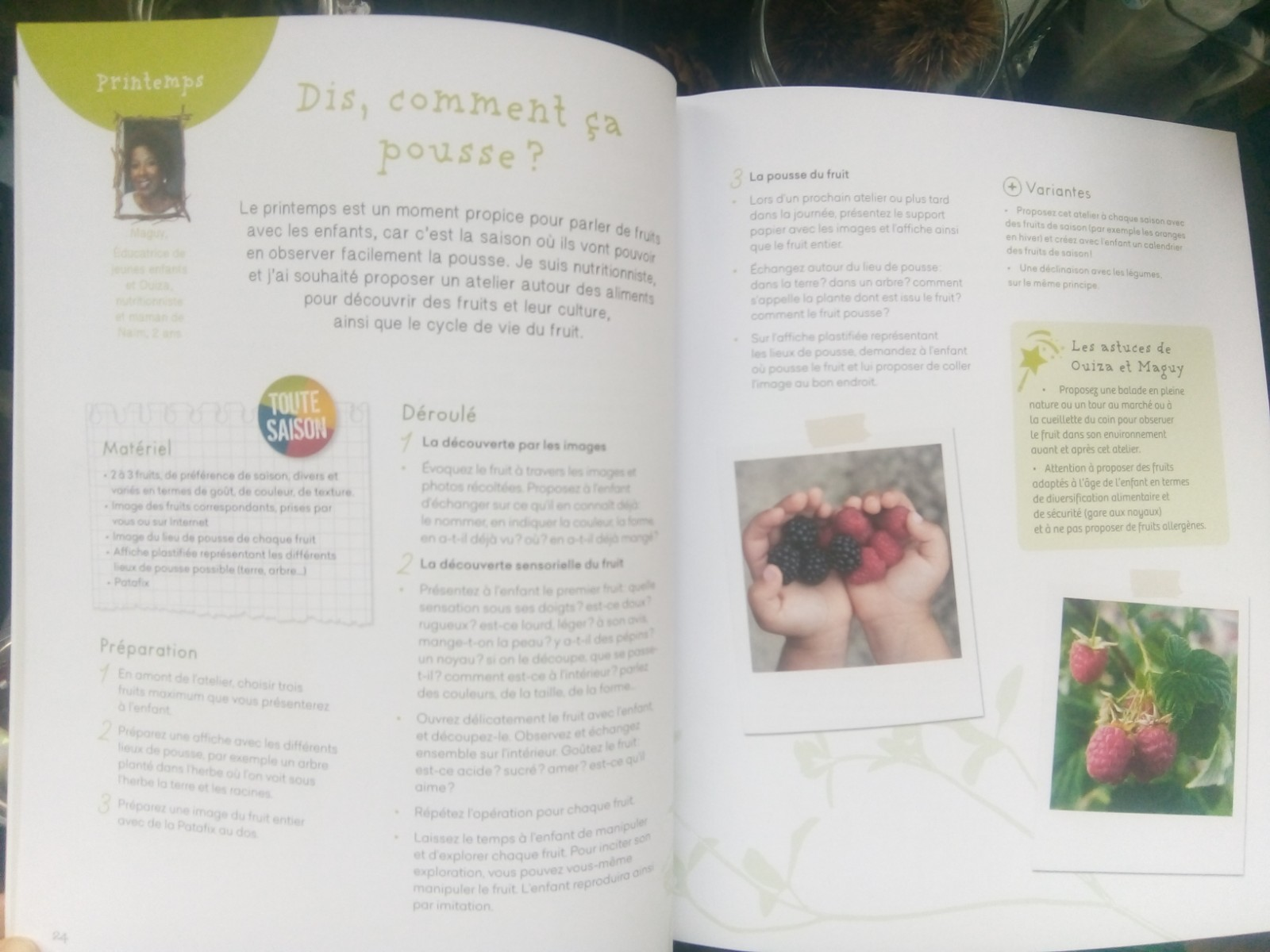 livre activités nature enfants