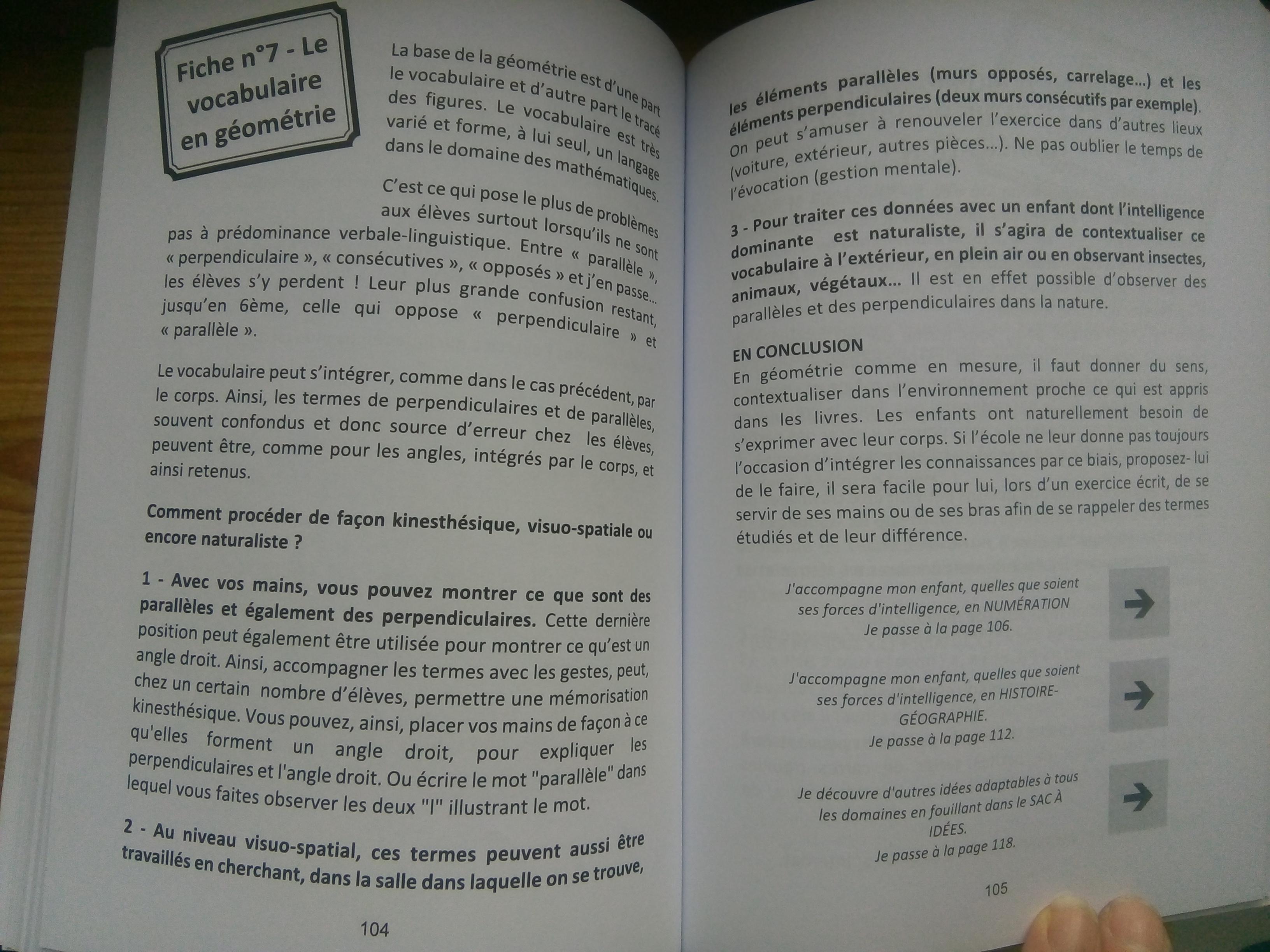 livre apprendre réussir école