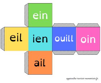 dés lecture syllabes
