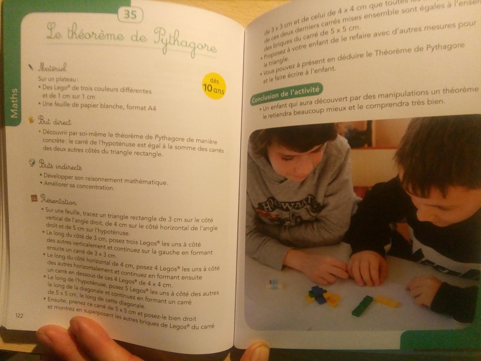 livre activités montessori 6 12