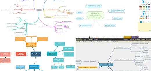 4 outils pour réaliser des cartes mentales en ligne