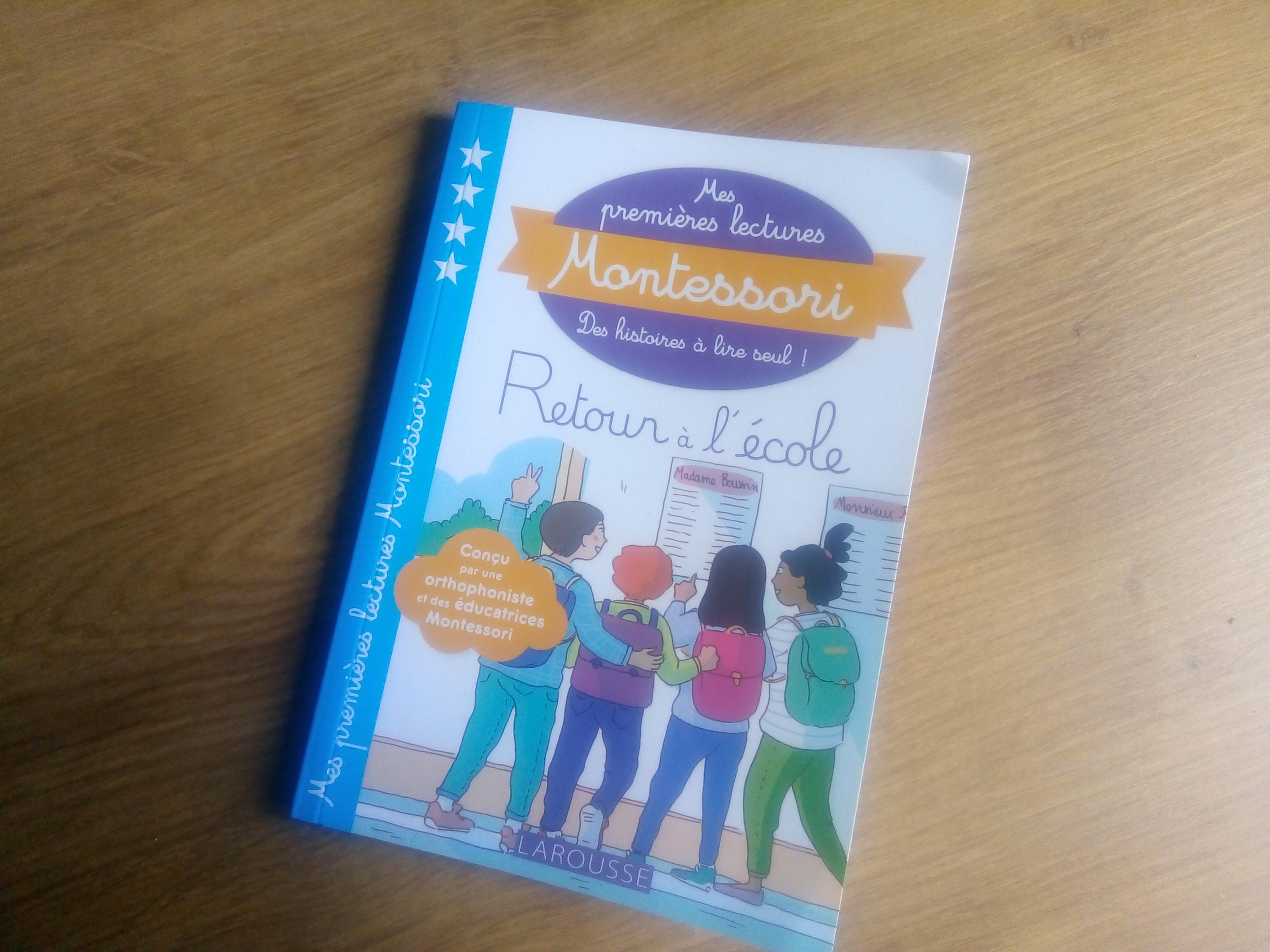 livre enfant lecture montessori
