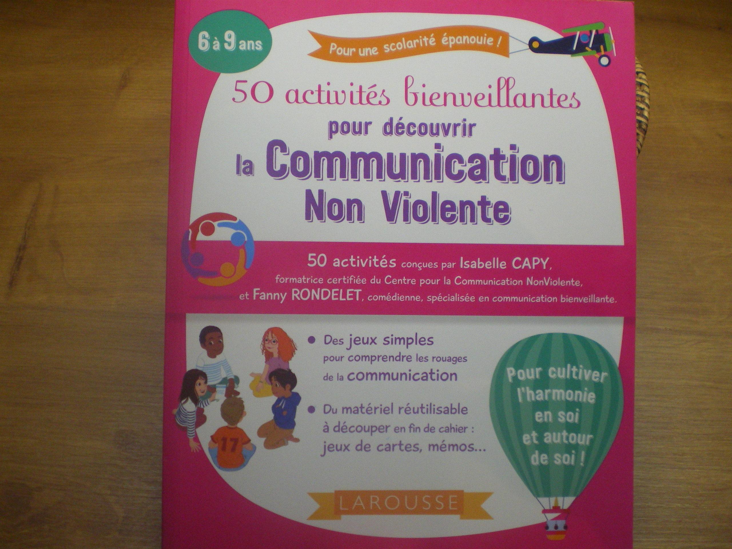 cahier enfants communication non violente