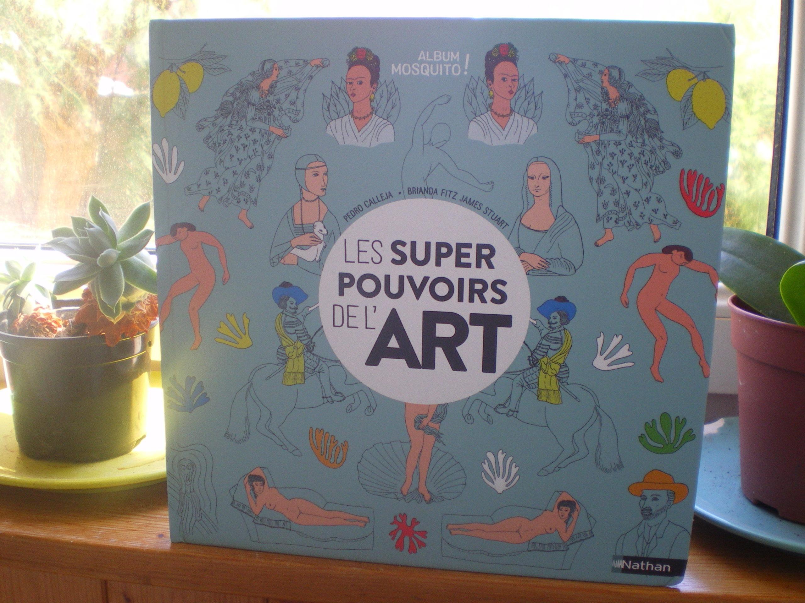 histoire découvrir art enfants