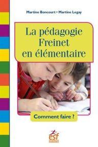 livre pratique pédagogie freinet en classe