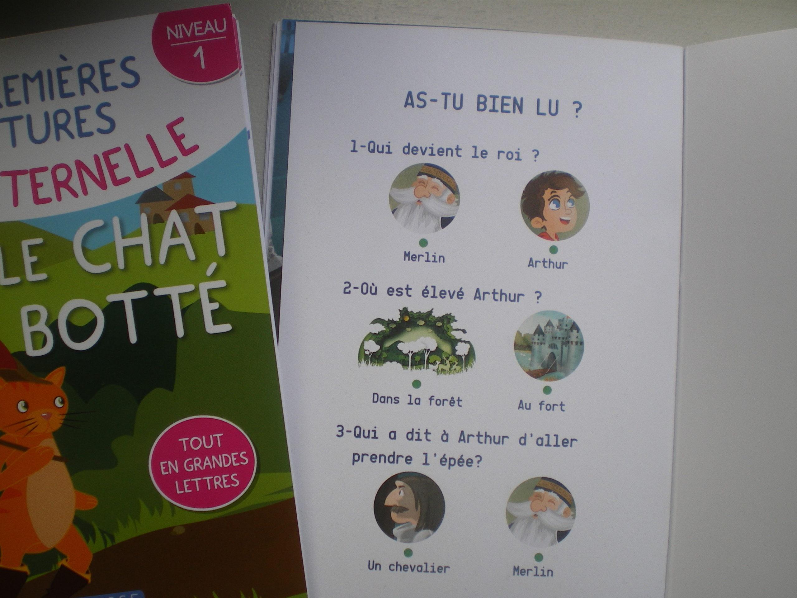 livres lire autonomie maternelle