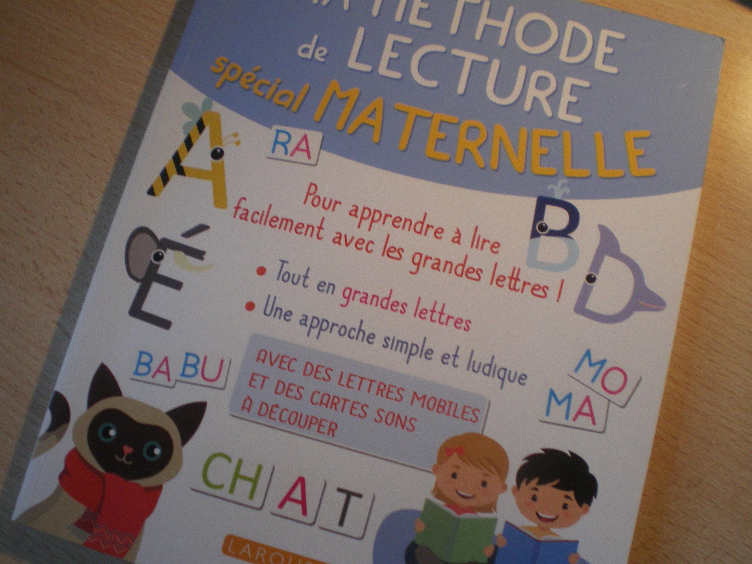 méthode de lecture enfants maternelle