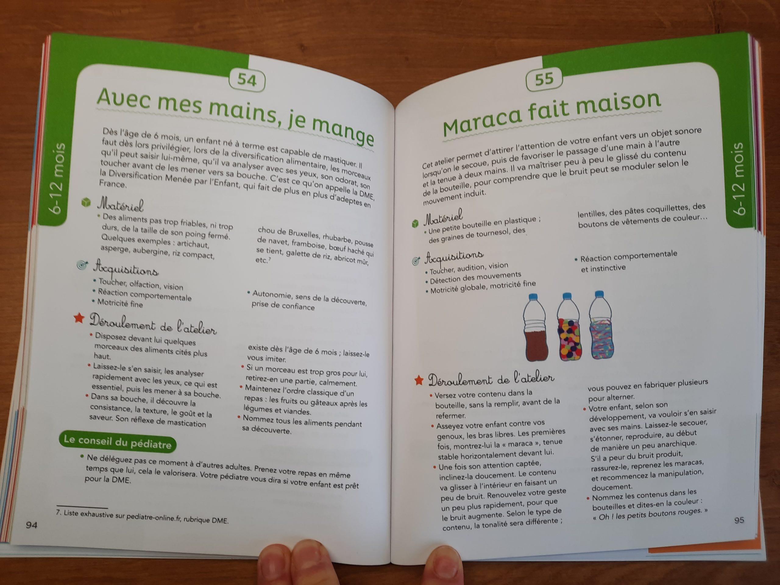 livre activités eveil préparer maternelle