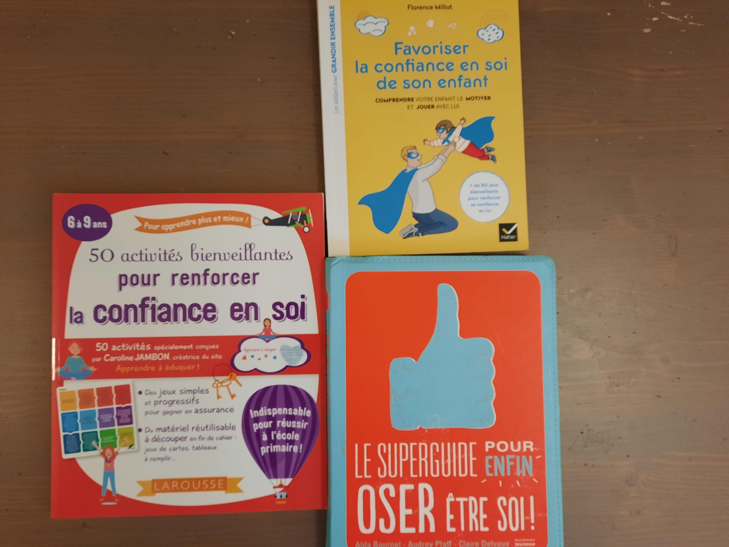 livre renforcer confiance en soi enfants ado