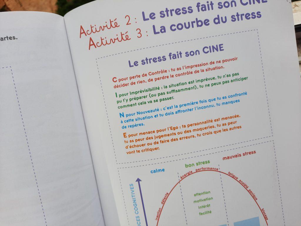 cahier activités bienveillantes stress enfants