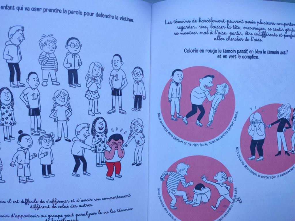 cahier activités sensibilisation harcèlement scolaire
