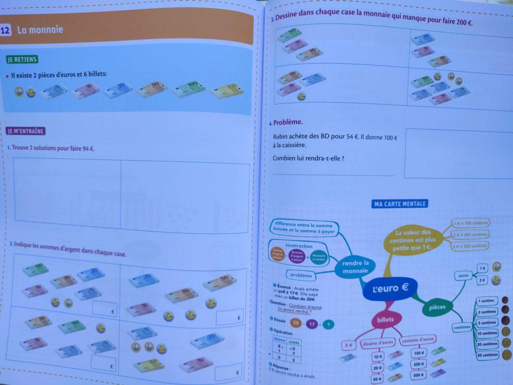 cahier enfants révisions programme scolaire cp cm2