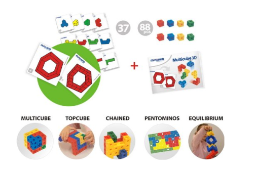 multicubes jeu de construction