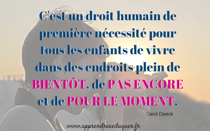 citation pour encourager