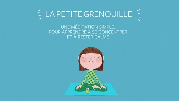 Calme et attentif comme une grenouille, le célèbre livre de méditation pour enfants