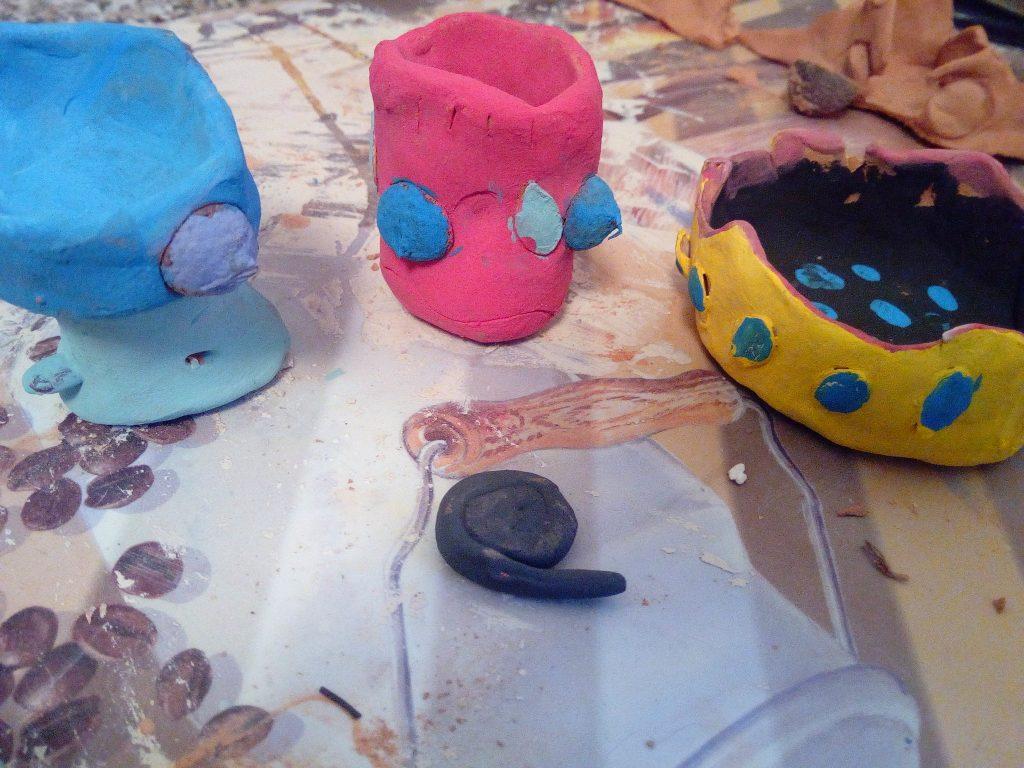 argile enfants création