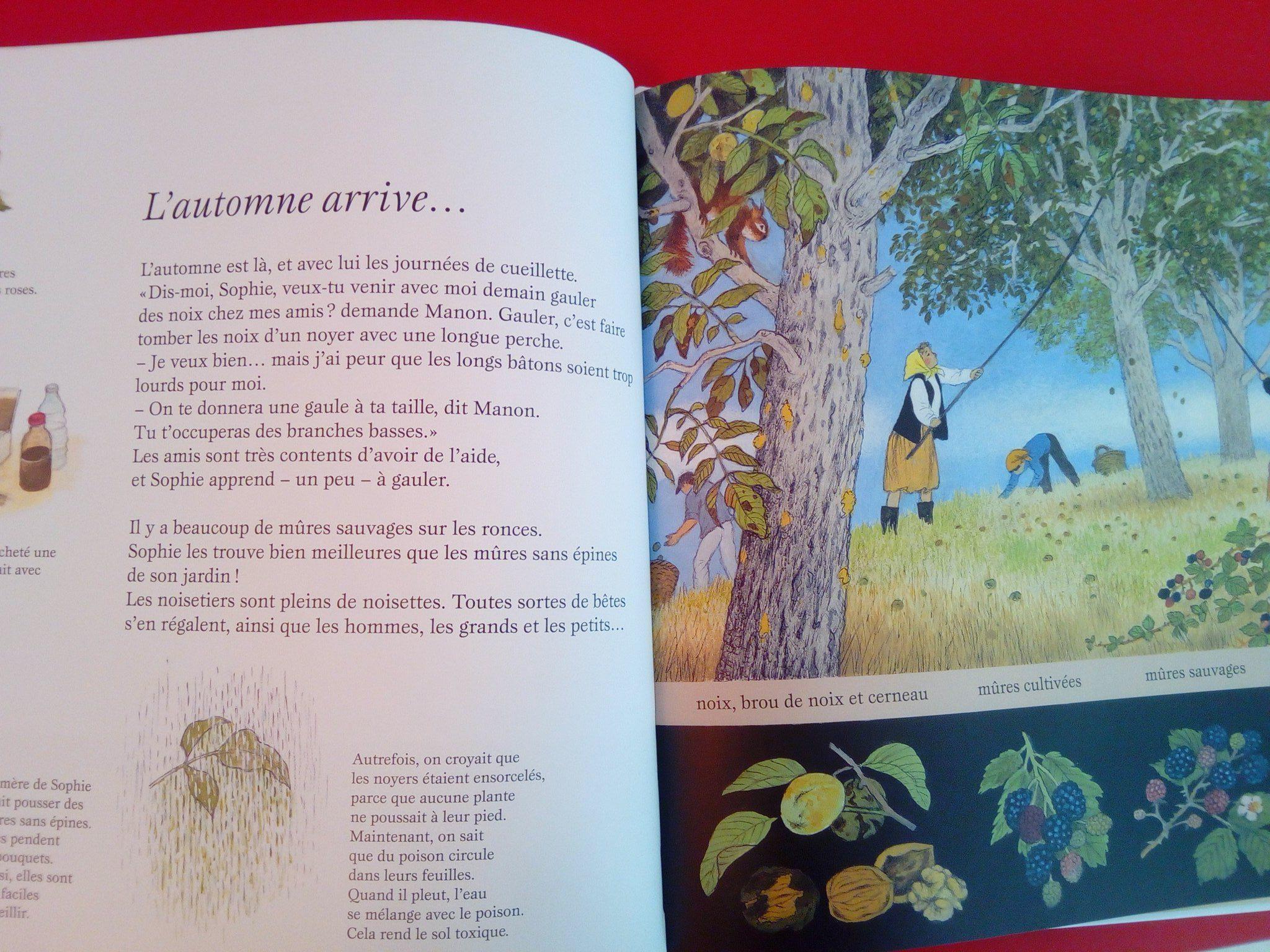 2 magnifiques livres pour les enfants sur la nature et le jardinage. Black Bedroom Furniture Sets. Home Design Ideas