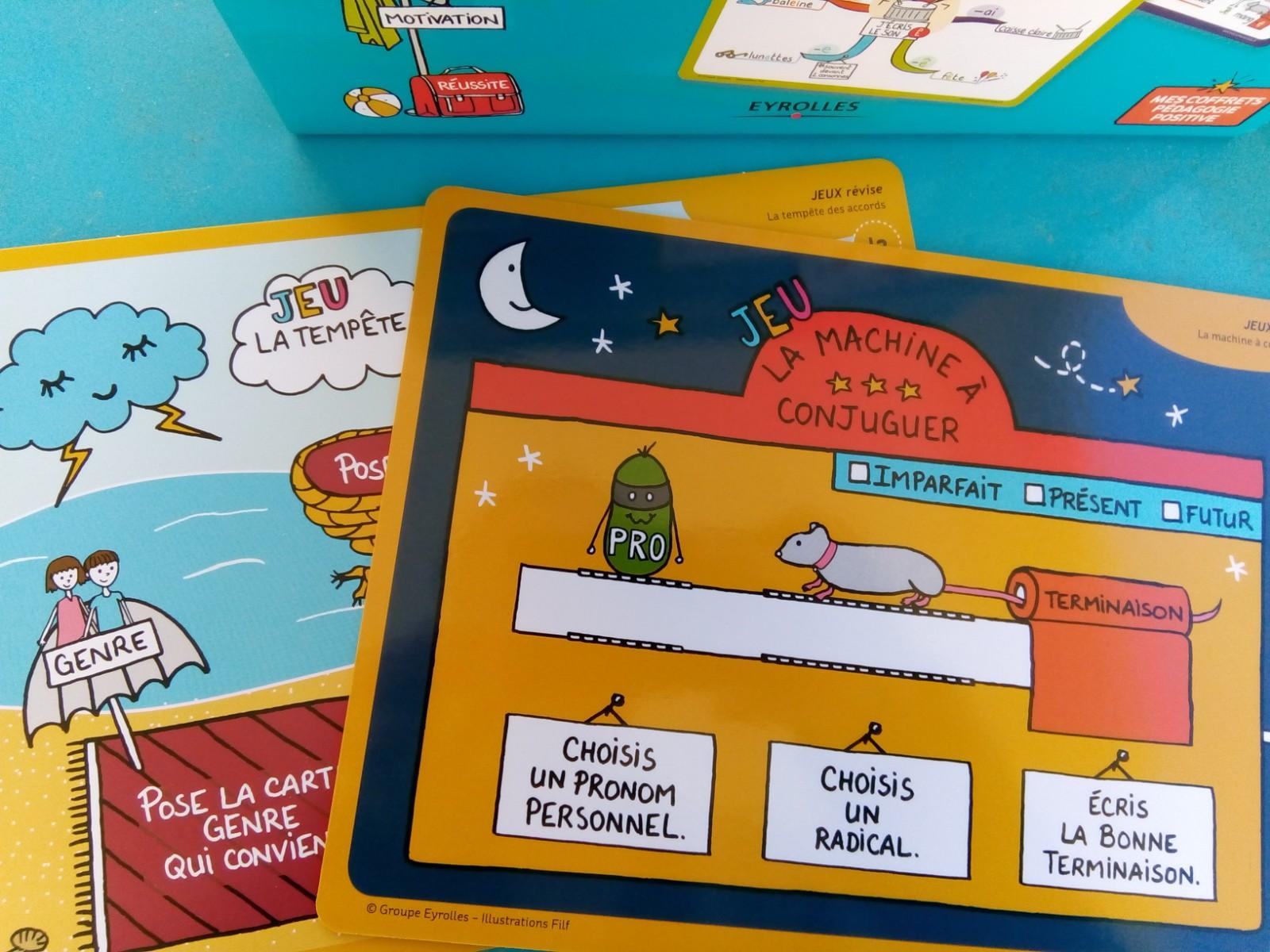 coffret cartes mentales français CP CE1 CE2