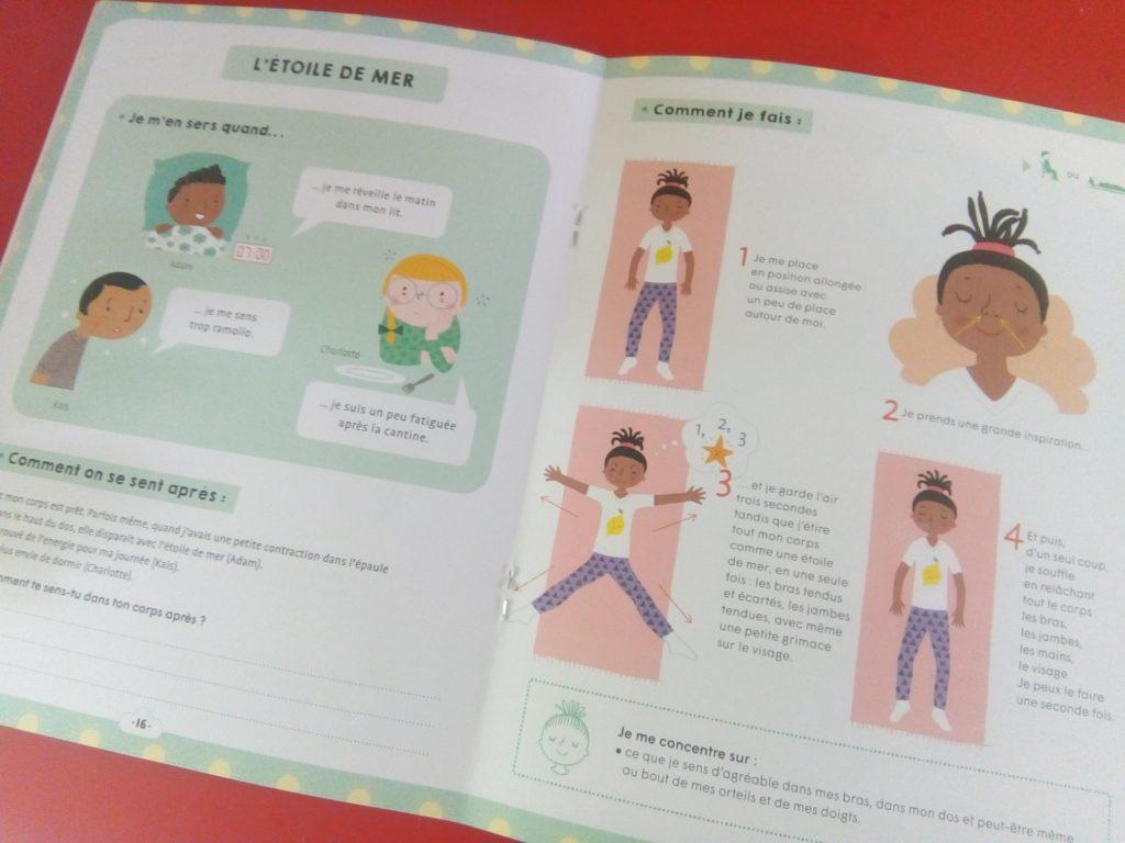 exercices pour se sentir bien enfants