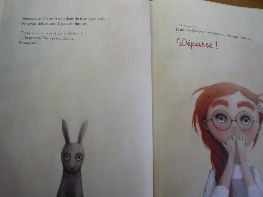 livre enfants qui aiment pas dépasser