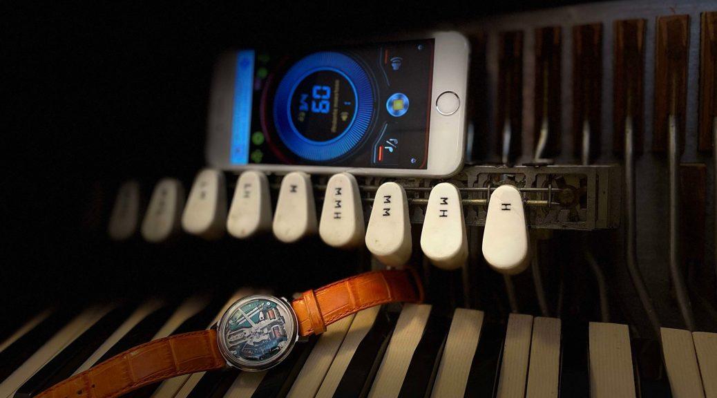 accordéon tempo montre et métronome