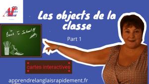 Les objets de la classe en anglais