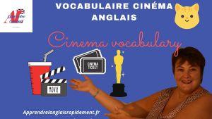 vocabulaire cinéma anglais