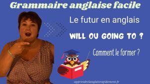 Le futur en anglais