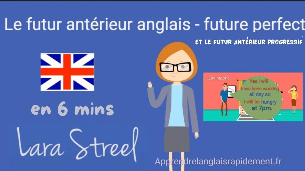 futur antérieur anglais