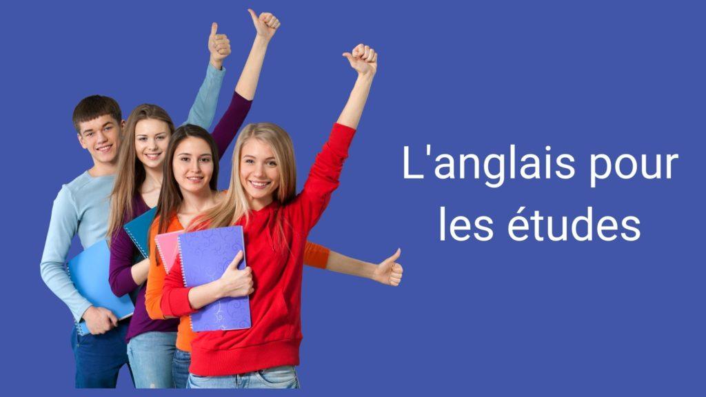 anglais pour les études