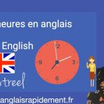 Les heures en anglais - Time in English