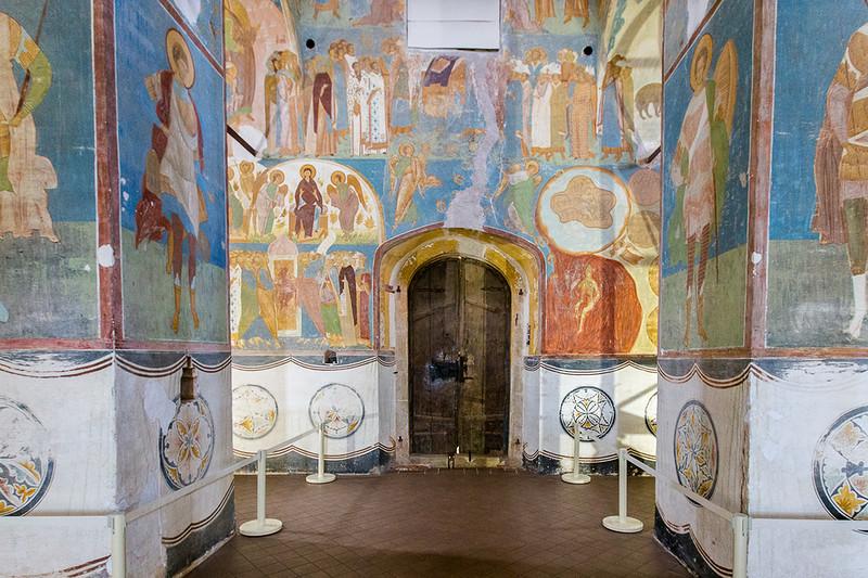 Fresques du monastère Ferapontov. Peintre Dionisiy