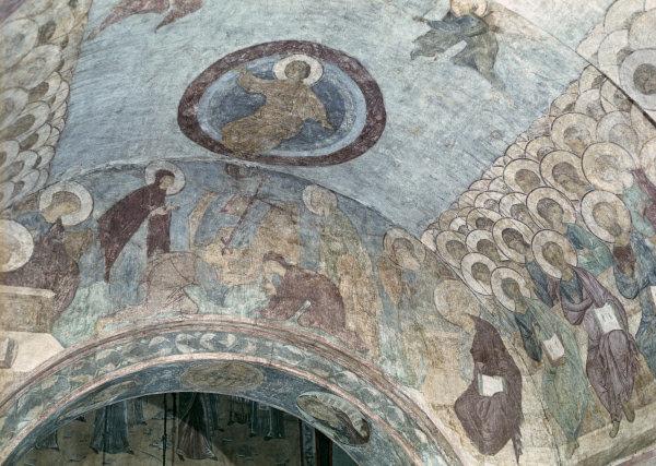 Le Jugement Dernier d'Andreï Roublev. Fresques de la cathédrale de la Dormition à Vladimir
