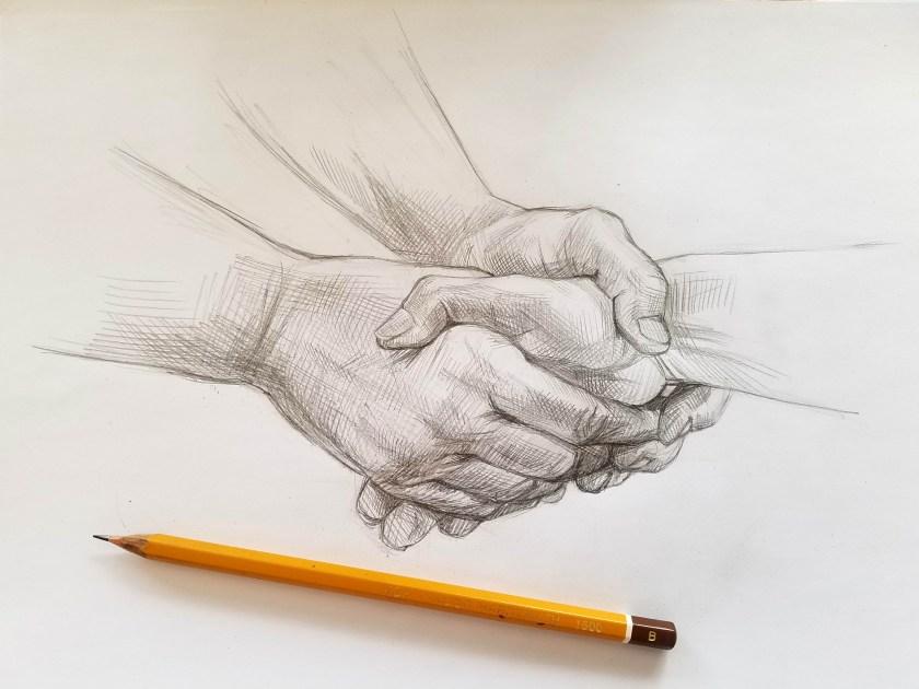 dessiner les mains.