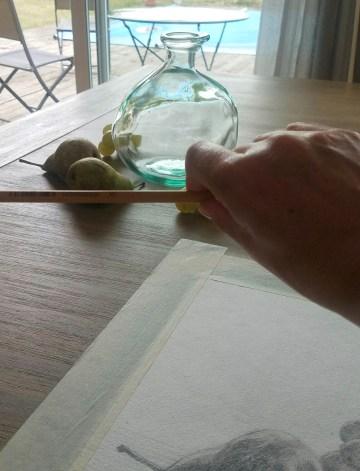 Comment dessiner correctement. Comment mesurer un point par rapport à un autre