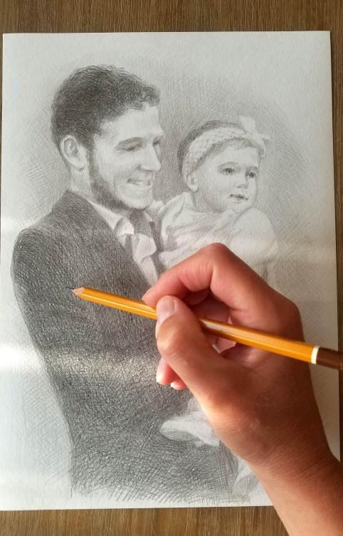 tenir un crayon