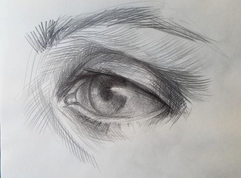 Comment dessiner des yeux. Etape finale