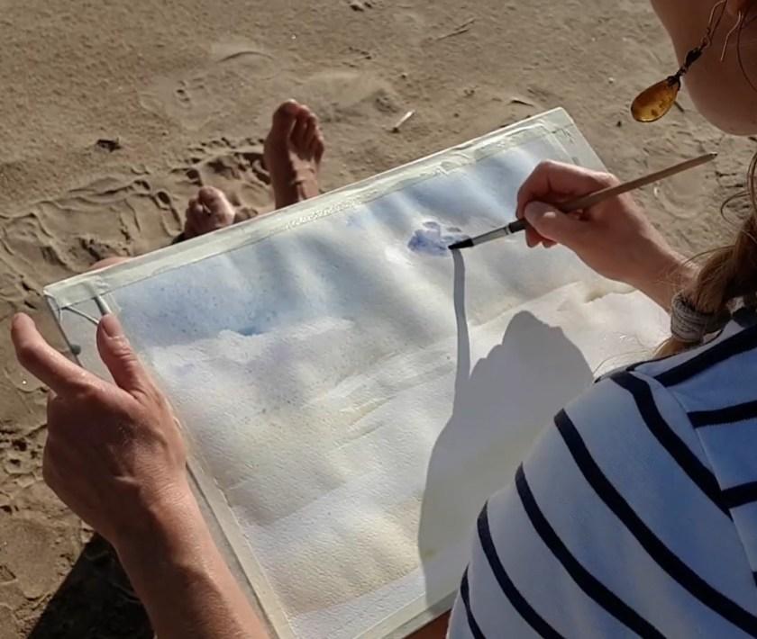 Comment peindre le ciel